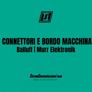 Connettori e Bordo Macchina