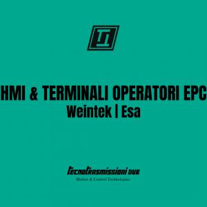 HMI e Terminali Operatori EPC