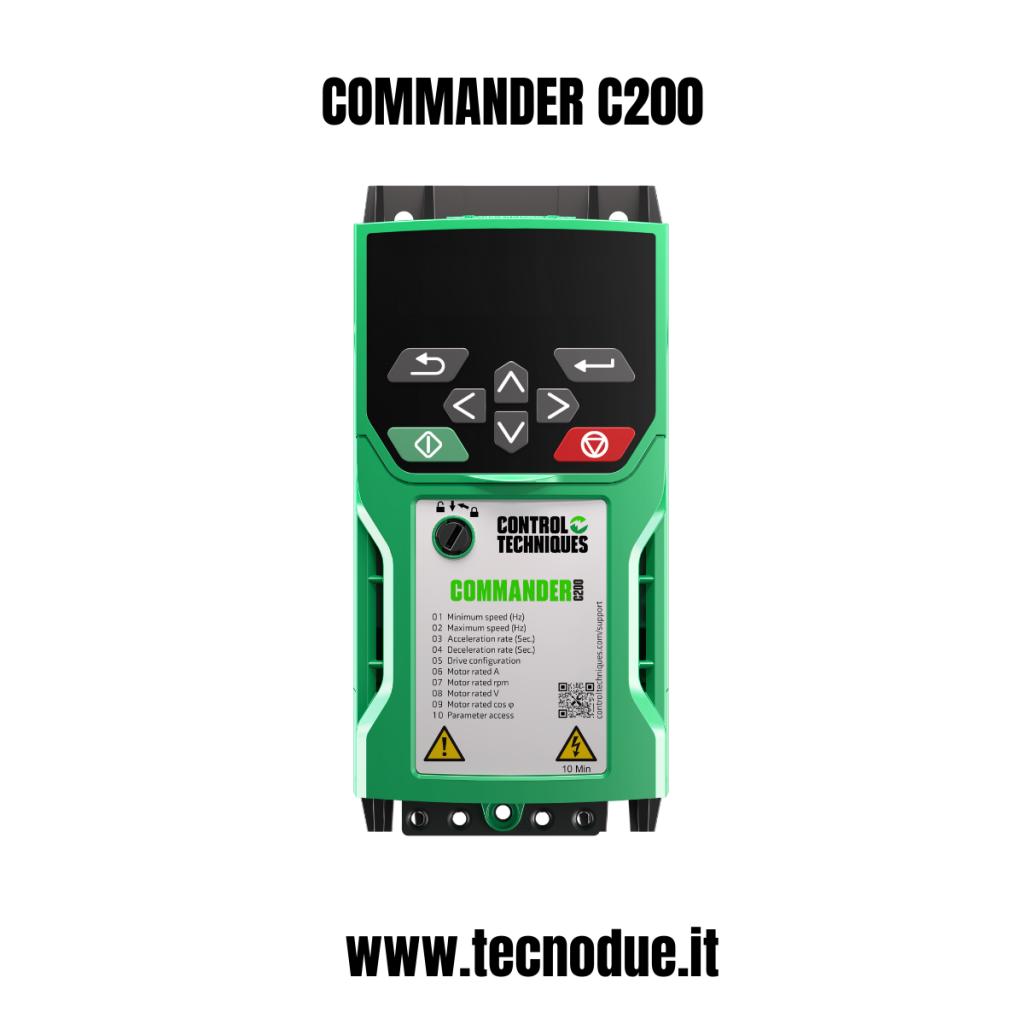 Nidec commander c300