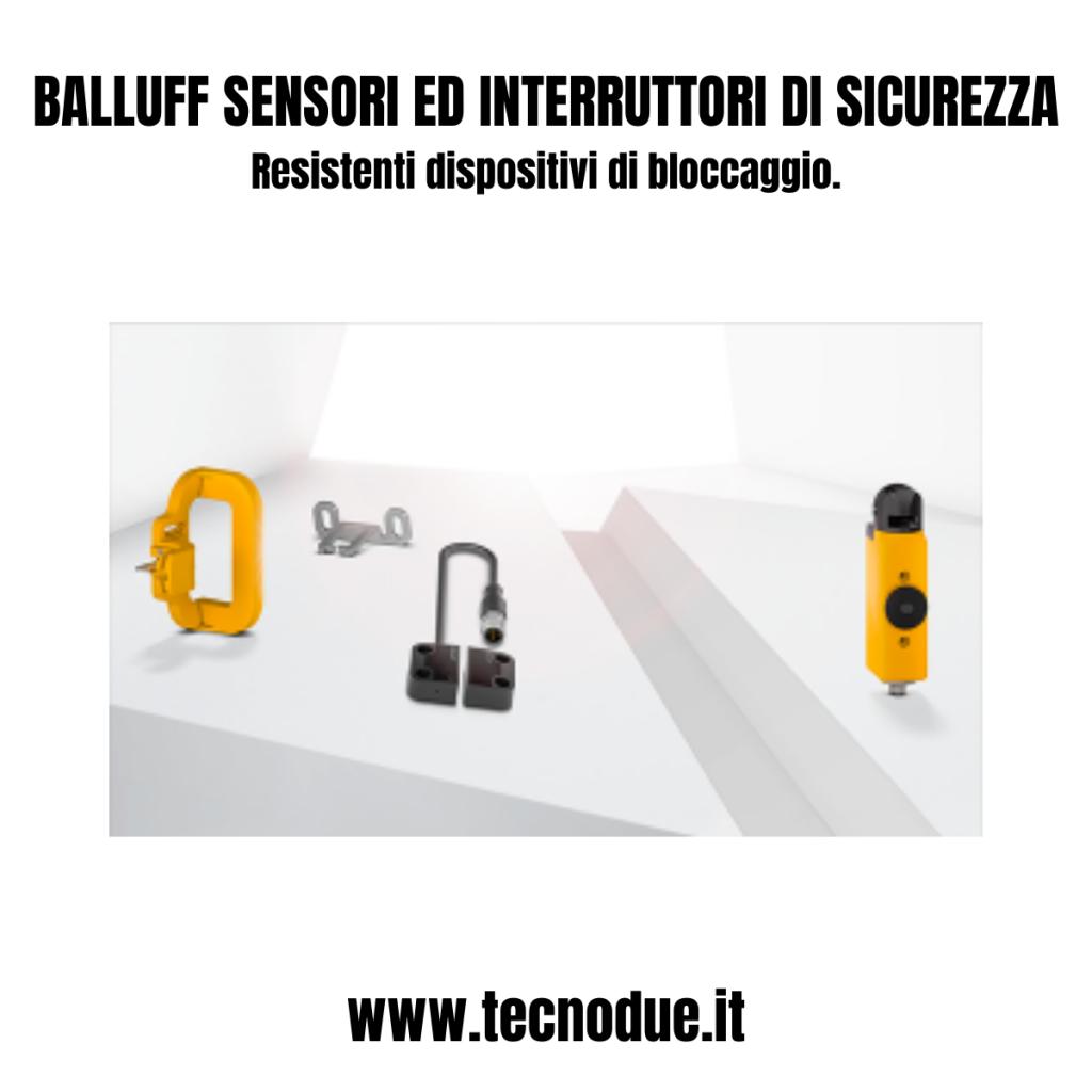 Sensori ed interruttori di sicurezza