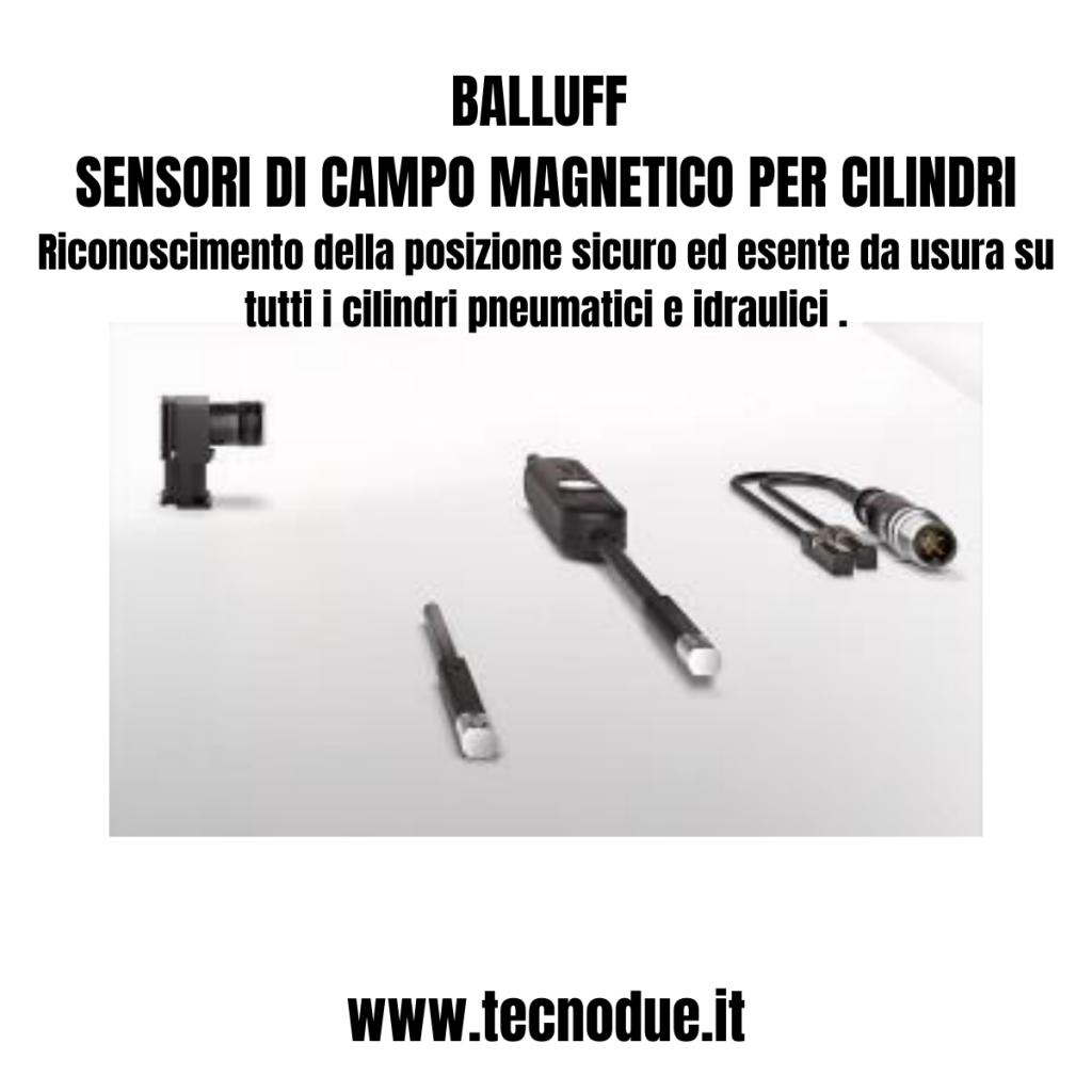 Sensori di Campo Magnetico per Cilindri