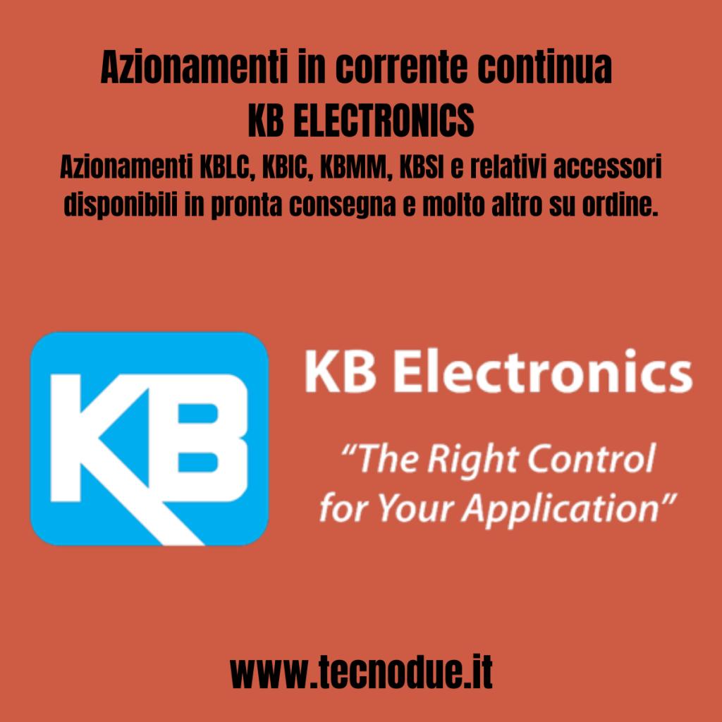 KB Electronics azionamenti in corrente continua